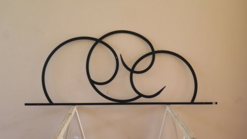 Headboard For Double Bed Wrought Iron Forged Hand Made 26