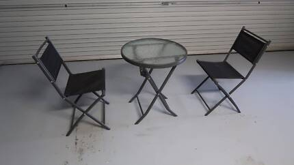 Outdoor Table and Chair Setting