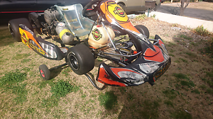 CRG Black Diamond go kart with Kt100j Bathurst Bathurst City Preview