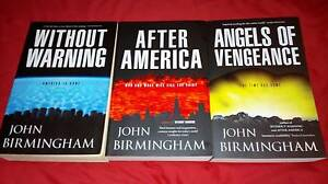 The Disappearance Trilogy- John Birmingham- large print softcover Wynn Vale Tea Tree Gully Area Preview