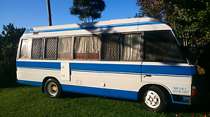Mazda T3500 Motor home Campervan 1990 Diesel Bus Rego rwc Tamborine Ipswich South Preview