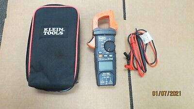 Klein Tools Cl800 True Rms 6000 Counts 600a Ac Digital Clamp Meter Auto Ranging