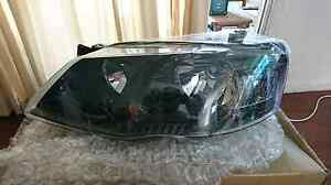 Bf MKII XL XT CLEAR BLACK HEADLIGHTS PAIR NEW NEVER USED Airlie Beach Whitsundays Area Preview