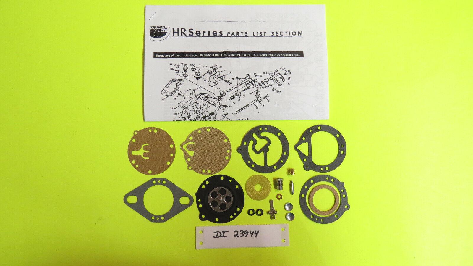 Zanzottera MZ34 CarburetorTillotson HR181 HR190 HR191 HR192 HR195 HR198 Carb Kit