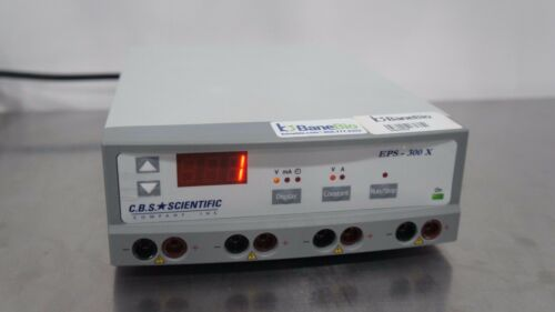 CBS Scientific Electrophoresis Power Supply EPS-300 X