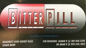 Bitter Pill-High Energy Rock Band for Hire