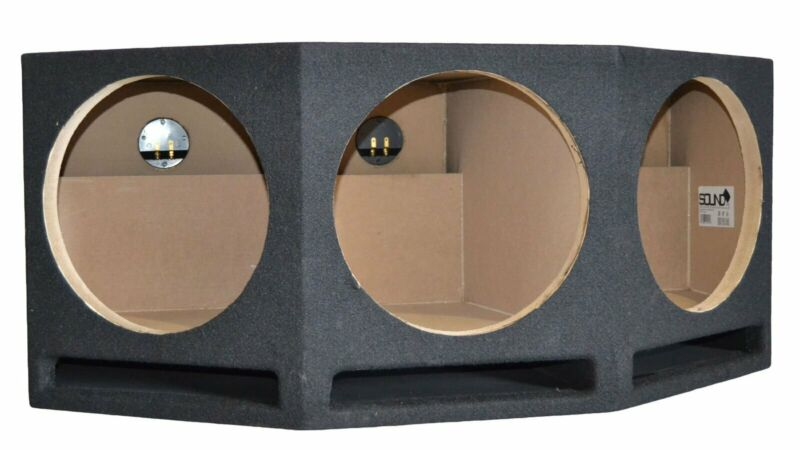 "SoundBox LP3-12a, Triple 12"" Ported Subwoofer Box Vented Sub Enclosure"