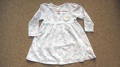 *** 46: Baby Kleinkind Kind Mädchen: Kleidchen Kleid Langarm HELLO KITTY Gr. 86