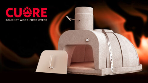 New Cuore 1000 PLUS Wood-Fired Oven Kit! FREE SHIPPING!!