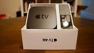 NEW Apple TV 4K 64GB HDR Media Streamer - Disney+ Netflix A1842 -