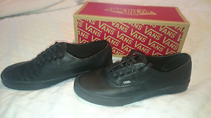 Vans leather shoes Cardiff Heights Lake Macquarie Area Preview