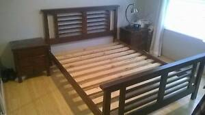 Wooden queen bed, good quality Drummoyne Canada Bay Area Preview