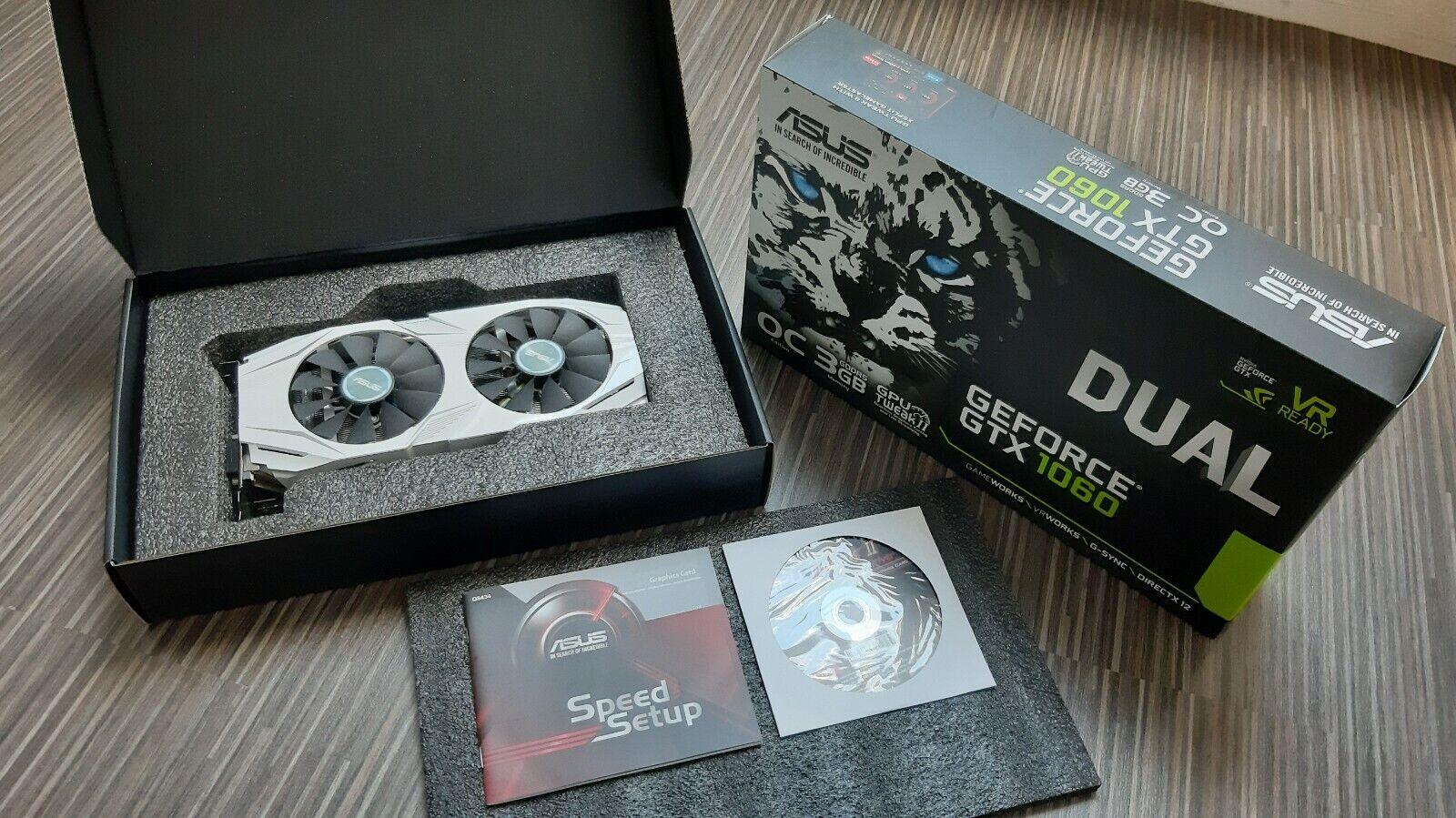 ASUS GeForce GTX 1060 3GB Dual-Fan OC Edition Grafikkarte