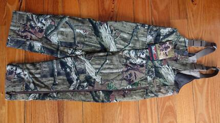 Camo Fishing Hunting overall Windproof, Quiet Kid size