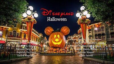 Disneyland Halloween Blu-Ray (Halloween Screams, Haunted Mansion Holiday) - Haunted Mansion Disneyland Halloween