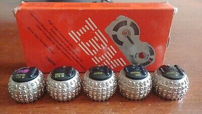 Electric Typewriter Head Lot Of 5