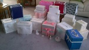 Wedding or Anniversary  Card Boxes