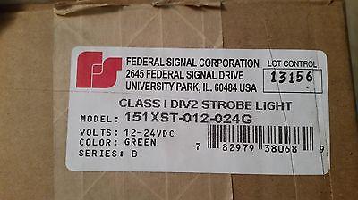 Federal Signal Class1 Div2 151xst-012-025g