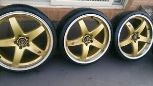 """20"""" lenso wheels and tyres 225/30r20"""