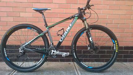 Giant XTC Composite 29er mountain bike  Pasadena Mitcham Area Preview