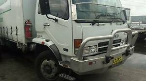 Mitsubishi Fuso Fighter 2004 FN600 12 Pallet Curtain-Sider Mount Druitt Blacktown Area Preview