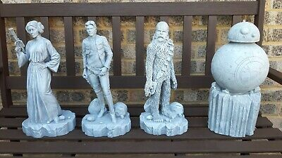 Star Wars Resin Garden Ornament Chewbacca figure Brand New paintable statue