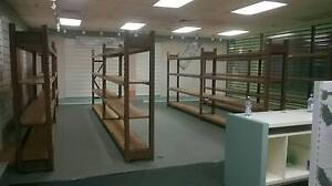 Store Shelving/ 4 x 2 Bay Long Span Racking - NEGOTIABLE Ipswich Ipswich City Preview