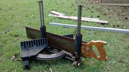 Stanley Mitre & Hand Saw - Made in USA Bellbird Park Ipswich City Preview
