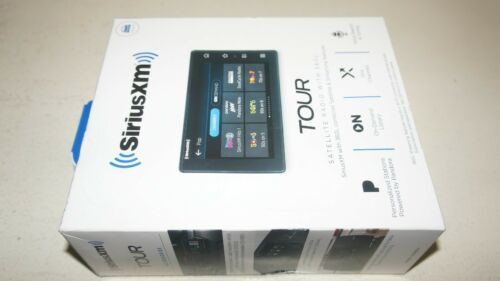 New SiriusXM SXWB1V1 Tour Satellite Radio with 360L and Vehicle Kit - Black