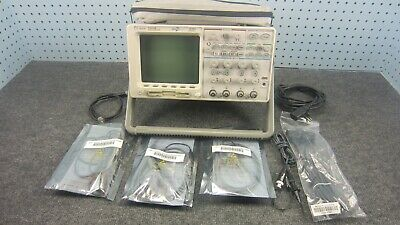 Agilent 54624a 4-channel 100 Mhz Oscilloscope Sn Sn 40020346