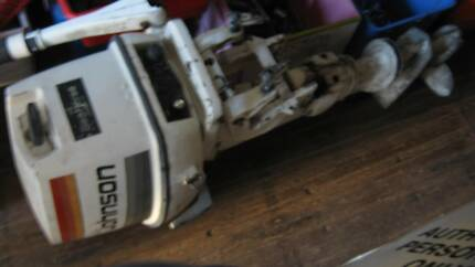 OUTBOARD  25 HP  JOHNSON