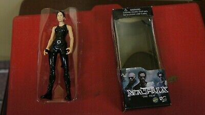 THE MATRIX TRINITY 6 INCH ACTION FIGURE IN BOX