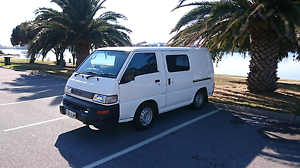 Mitsubishi Express Campervan, LPG, withe rego and gear! +GPS Adelaide CBD Adelaide City Preview