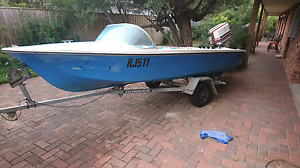 Fibreglass boat great trailer SOLD PENDING PICKUP Blairgowrie Mornington Peninsula Preview