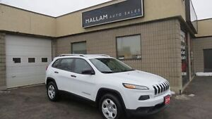 2014 Jeep Cherokee Sport 4WD, Back up Camera, Heated Steering...