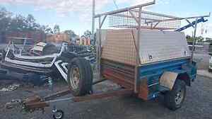 2009 JUST TRAILERS OFFROAD BUILDERS TRAILER Loganholme Logan Area Preview
