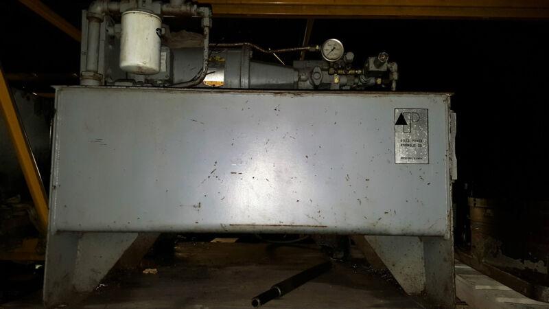 5 Hp Delta Power Hydraulic Vickers 6 GPM Pump/Motor/Tank Combo 208-230/460