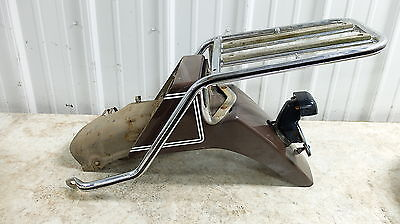 76 Yamaha XS500 XS 500 XS500 Rear Back Fender Rack Mount