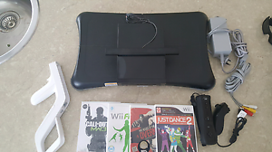 Wii console with Wii fit step board. Jindalee Wanneroo Area Preview
