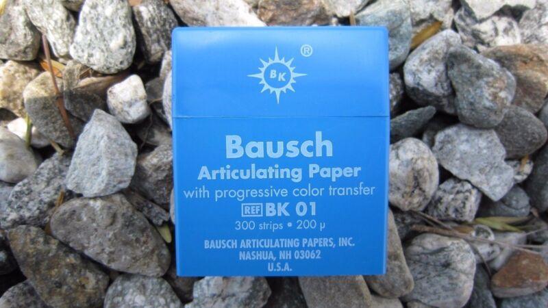 Bausch Articulating Paper 200 Microns 300/STRIPS #BK-01