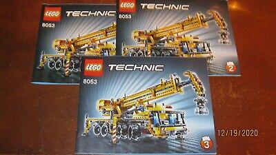 Lego 8053 Technic Mobile Crane Complete w/ manuals, retired