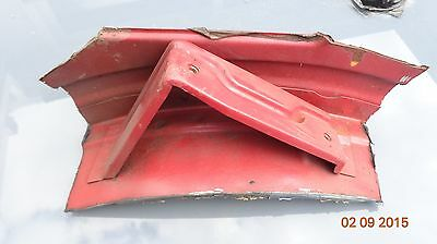 Ford Capri rear seat upright top o/s mount weld bracket body shell 2.8i Laser S