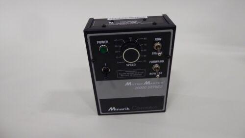 Minarik MM23212D Drive Control Motor Master 20000 Series