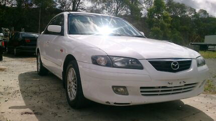 MAZDA 626 2002 RWC ECLIPSE AUTOMATIC WHITE Underwood Logan Area Preview