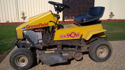 Ride On Mower. Greenfield Minimow 25. With Side Catcher Kyabram Campaspe Area Preview