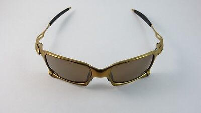 Oakley X Metal X Squared 24K Gold Titanium Iridium Polarized OO6011-10 for sale  Shipping to Canada