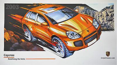 Porsche 2003 Design Calendar, with CD, Number 1747 of 6000