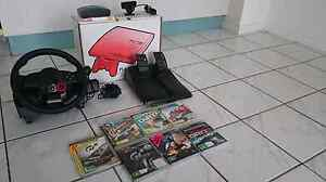PS3 160gb + control+steering wheel +play TV+ gamed Nightcliff Darwin City Preview
