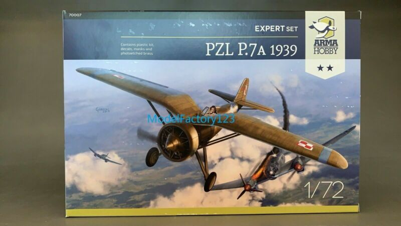 Arma Hobby 70007 1/72  PZL P.7a 1939 Arma Hobby Expert Set Model Kit