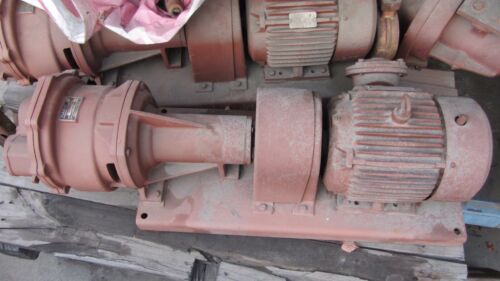 Nash Vacuum Priming Pump AT-64 Bronze Casing + 1750RPM 5HP Reliance Motor